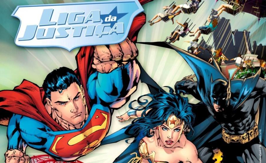 Batman x Super-Homem no Hopi Hari