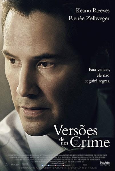 A PlayArte Pictures lançará nos cinemas na semana que vem, dia 09 de março, o filme Versões de um Crime (The Whole Truth), com Keanu Reeves e Renée Zellweger.
