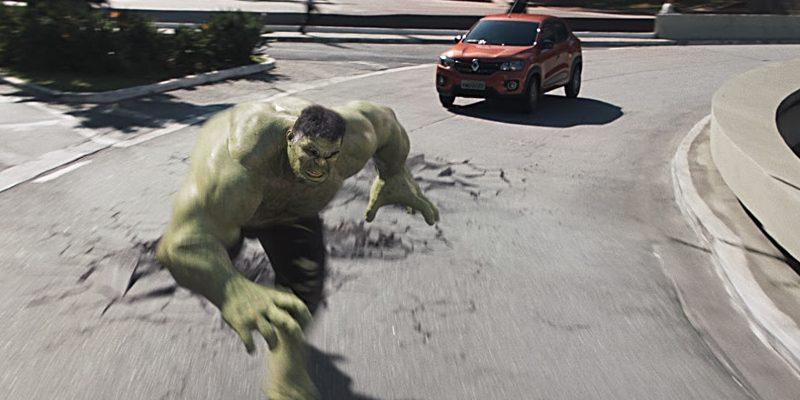Super-herói Hulk é escalado pela Renault e Neogama para campanha do Kwid
